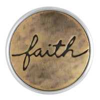 Ginger Snaps Faith Script Snap SN03-18
