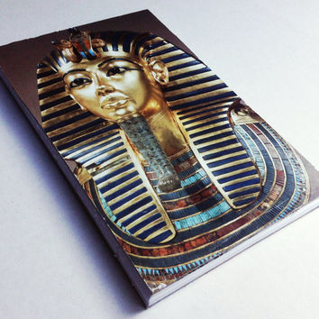 Ancient Egyptian Tutankhamun designed 80 page journal 5 1/2 X 8 1/2