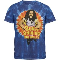 Bob Marley - Shining Youth Tie Dye T-Shirt