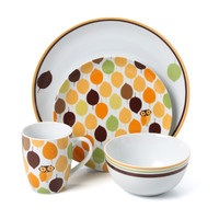 Rachael Ray Little Hoot 16 Piece Dinnerware Set & Reviews | Wayfair