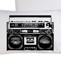 A Boombox Is Not A Toy pillowcase funny pillow cover boom box the hip hop hilarious awesome comedy alternative radio dj mix rap beat snl