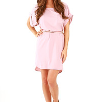 The Boyfriend Tunic: Light Pink