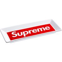 Supreme: Ceramic Tray - White