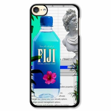 Fiji Water Vaporwave iPod Touch 6 Case