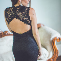 Sweet Dreams Dress in Black