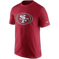 San Francisco 49ers Shirt Men's Nike NFL Essential Logo T-Shirt