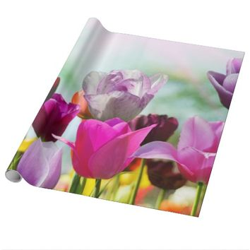 Pretty Tulips Wrapping Paper
