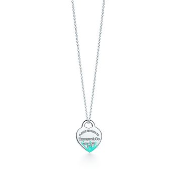 Tiffany & Co. - Return to Tiffany®:Color Splash Heart TagCharm