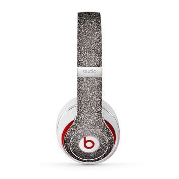 The Black Glitter Ultra Metallic Skin for the Beats by Dre Studio (2013+ Version) Headphones