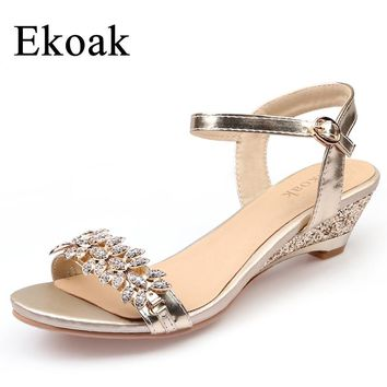 Crystal Bling Sandals Party Dress Shoes