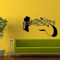 Room Wall Decor Vinyl Sticker Room Decal Art Huge Music Rock Classic Electrical Guitar 910