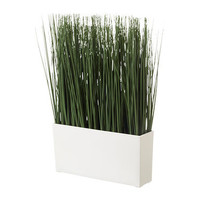 FEJKA Artificial potted plant with pot Grass - IKEA