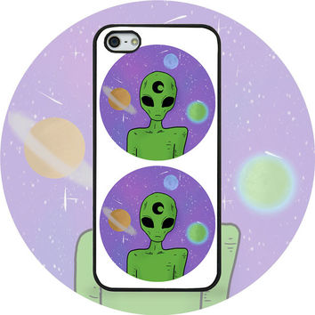 Alien Galaxy iPhone Case 5 / 5s / 4 / 4s