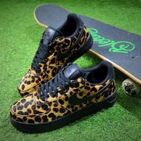 Nike Wmns Air Force 1 '07 LX Animal Prints Pack Leopard Sneaker AF1 898889-001 Shoes - Best Online Sale