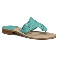 Nantucket Sandal in Carribean Blue by Jack Rogers