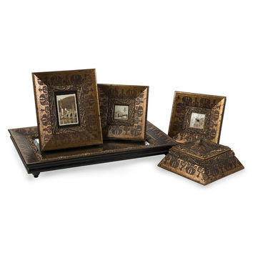 Baroque Inspired Framed Collection - Set of 5