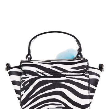Zebra Elle Cross Body Bag