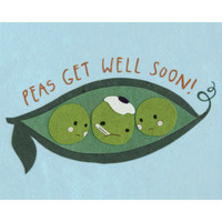 Peas Get Well Card - Philippines