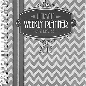 Ultimate Weekly Planner - Personal Organizer & Planner, To Do List, Menu Planning