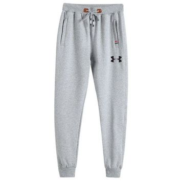CREYV9O under armour Men Fashion Print Sport Stretch Pants Trousers Sweatpants