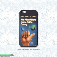 The Hitchhiker's Guide to the Galaxy, Custom Phone Case for iPhone 4/4s, 5/5s, 6/6s, 6/6s+, iPod Touch 5