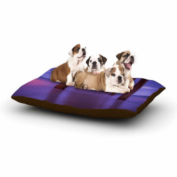 "Juan Paolo ""Scripps Pier"" Pink Purple Dog Bed"