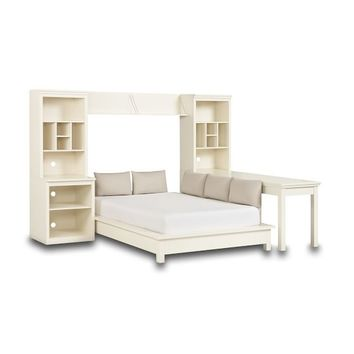 Stuff-Your-Stuff Platform Bed Set