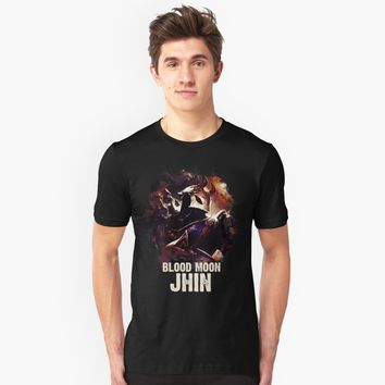 """League of Legends BLOOD MOON JHIN"" Unisex T-Shirt by Naumovski 