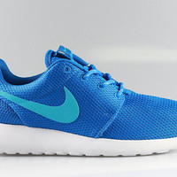 Nike Women's Roshe Run Dark Electric Blue