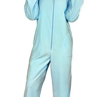 Rainbow Dash Hooded Union Suit - Baby Blue,
