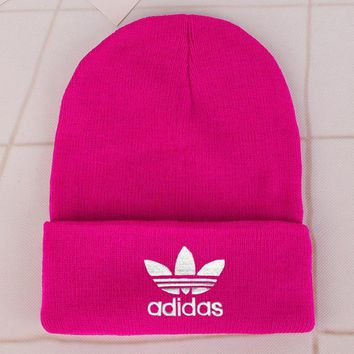 Adidas Fashion Edgy Winter Beanies Knit Hat Cap-20