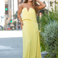 Ray of Sun Maxi Dress