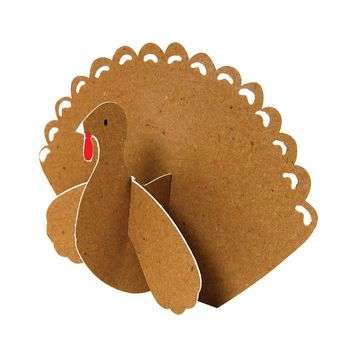 Kraft Turkey Place Cards