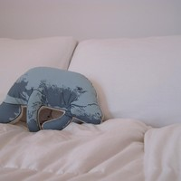 Manatee Pillow | BRIKA - A Well-Crafted Life