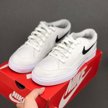 HCXX 19June 995 Nike GTS Classic casual canvas board shoes white black