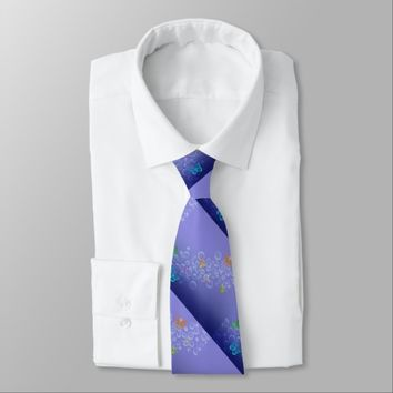 Bubbles n Butterflies Neck Tie
