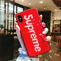 Supreme Protective Iphone Case - Red