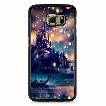 Tangled Movie Poster Lights Samsung Galaxy S6 Case