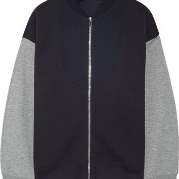 Stella McCartney - Cotton-blend bomber jacket