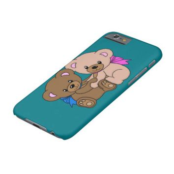 Cute Baby Bears Graphic Barely There iPhone 6 Case