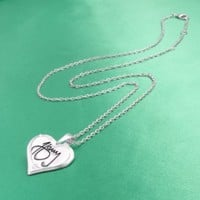 One Direction 'Harry Signature' Heart Necklace