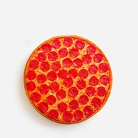 Funny Pizza Print Throw Pillow Cushion