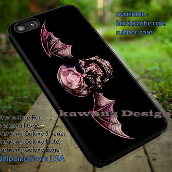 Band Rock Logo Popular Avenged Sevenfold iPhone 6s 6 6s+ 5c 5s Cases Samsung Galaxy s5 s6 Edge+ NOTE 5 4 3 #music #a7x dt