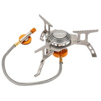 Outdoor Gas Stove Camping Hiking Picnic Stove Burner 3000W Stainless Steel Material