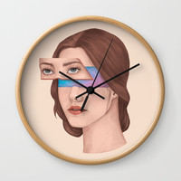 Made Of Stars Wall Clock by marylobs