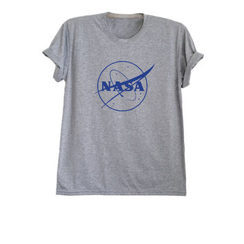 Nasa tshirt tumblr astronaut shirt funny mens womens t-shirts space tee planet shirt size XS S M L