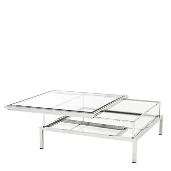 Eichholtz Harvey Coffee Table - Steel (S)