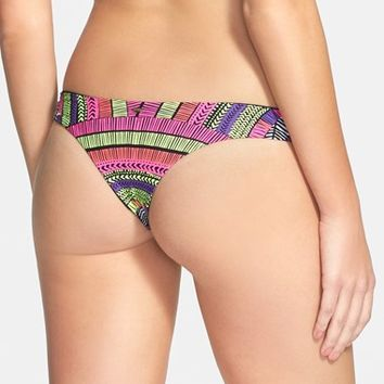 Junior Women's Rip Curl 'Modern Myth Aloha' Reversible Cheeky Bikini Bottoms
