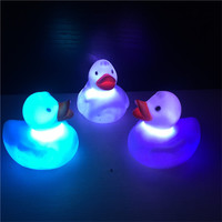 Waterproof Cute Color Change LED Duck Baby Kids Bath Mood Lamp Night Light