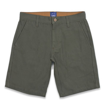 Moss Duck Canvas Camp Shorts